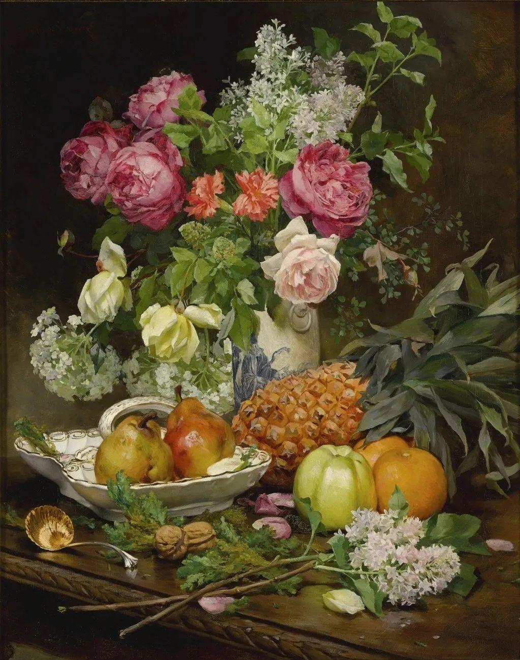100年多前,她们是这样摆摊卖花的,好美的画面!插图46