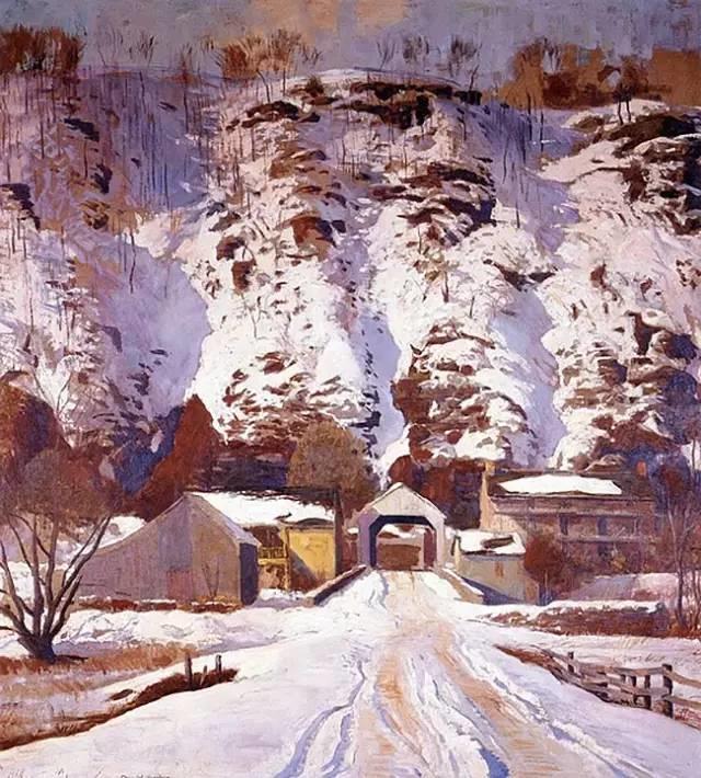 美国印象派画家丹尼尔·加伯插图9