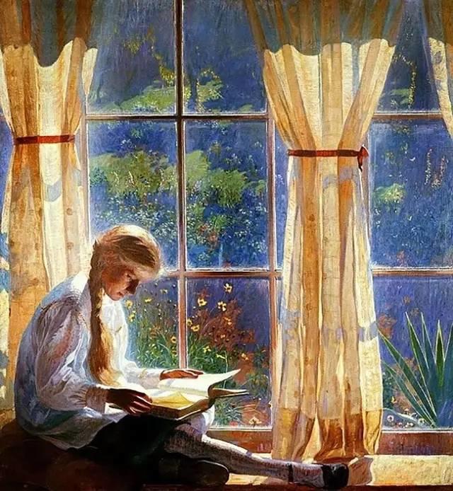 美国印象派画家丹尼尔·加伯插图16