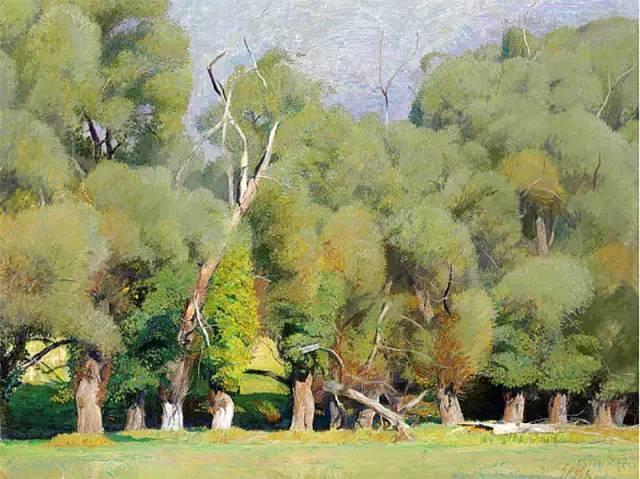 美国印象派画家丹尼尔·加伯插图28