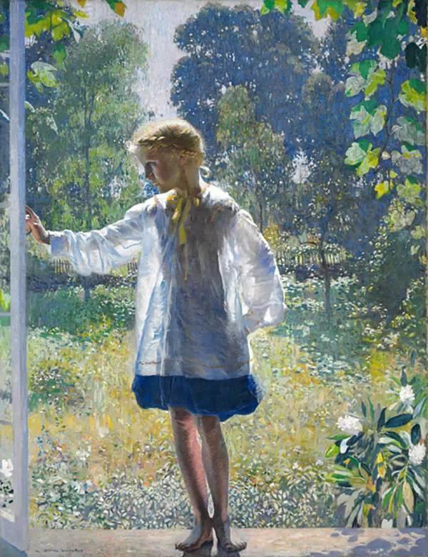 美国印象派画家丹尼尔·加伯插图30