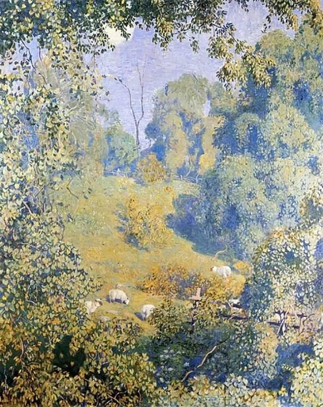 美国印象派画家丹尼尔·加伯插图35