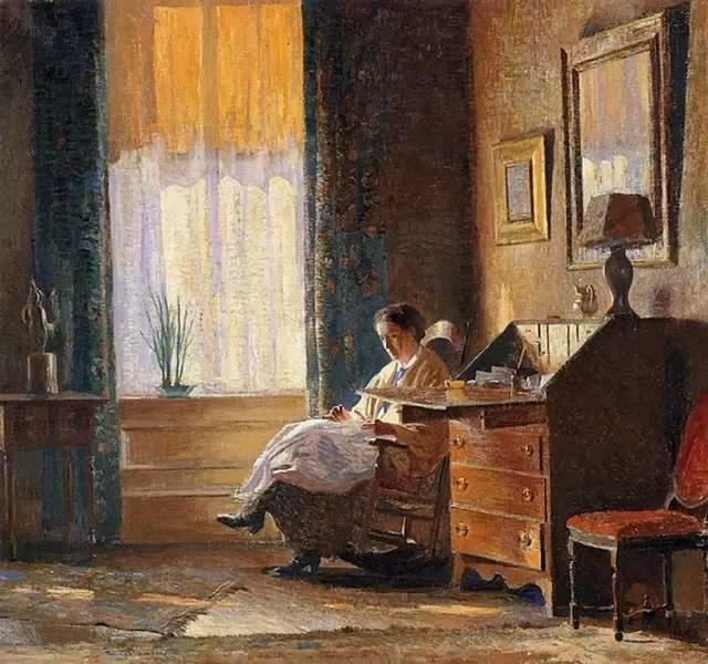 美国印象派画家丹尼尔·加伯插图47