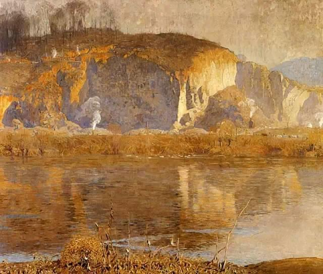 美国印象派画家丹尼尔·加伯插图59