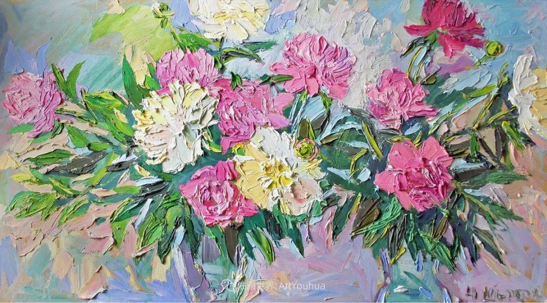 大笔触风景与花卉,色彩靓丽,美轮美奂!插图108
