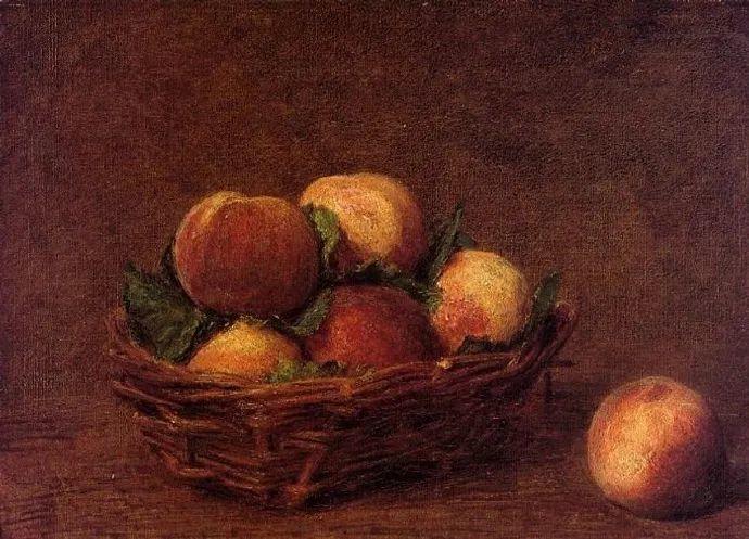 色彩细腻丰富,拉图尔水果静物作品插图5