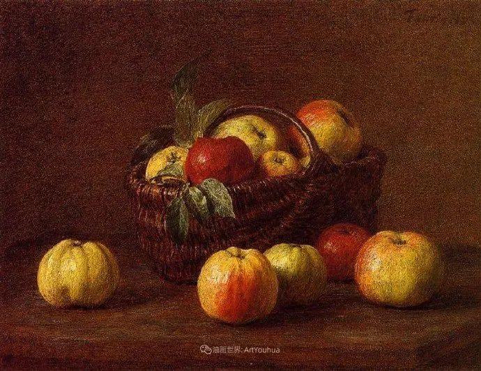 色彩细腻丰富,拉图尔水果静物作品插图6
