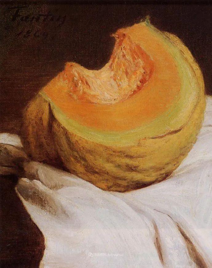 色彩细腻丰富,拉图尔水果静物作品插图11