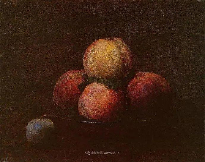 色彩细腻丰富,拉图尔水果静物作品插图18