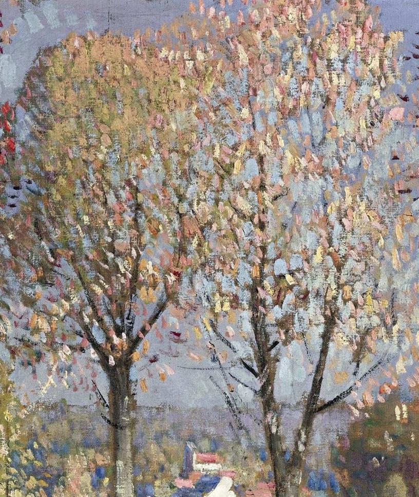 放大看,色彩笔触太赞了!法国美术学院第一任主席的画插图16