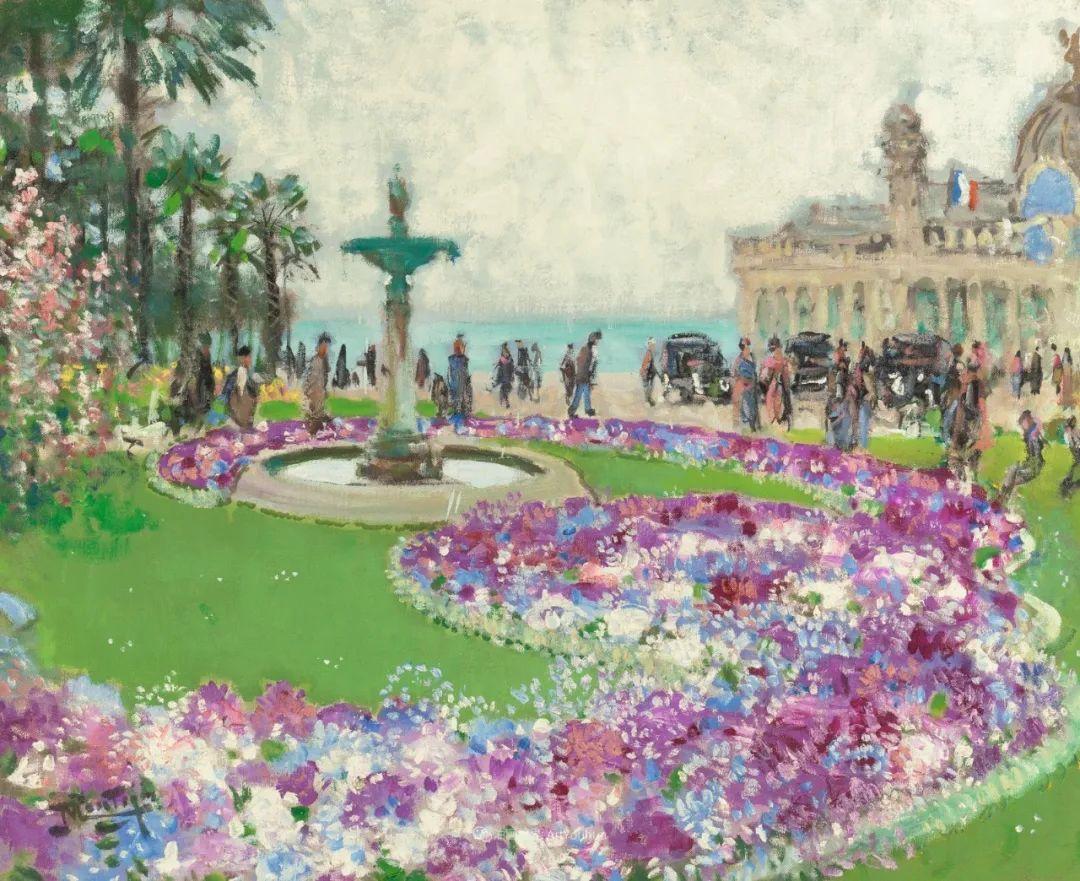 放大看,色彩笔触太赞了!法国美术学院第一任主席的画插图18