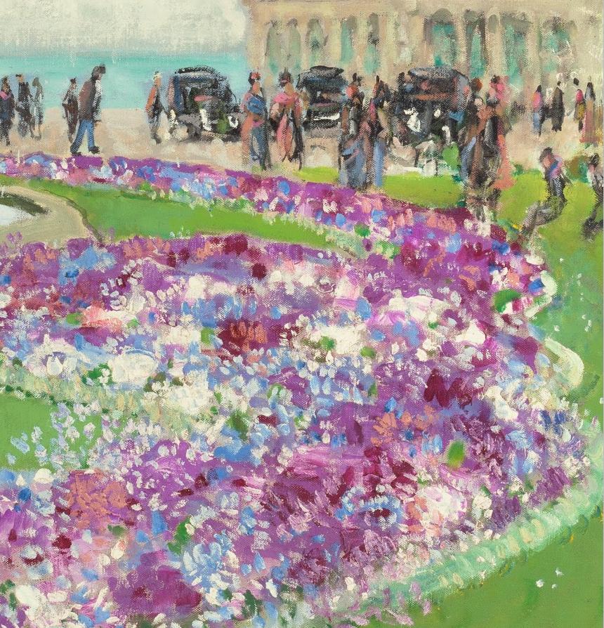 放大看,色彩笔触太赞了!法国美术学院第一任主席的画插图19