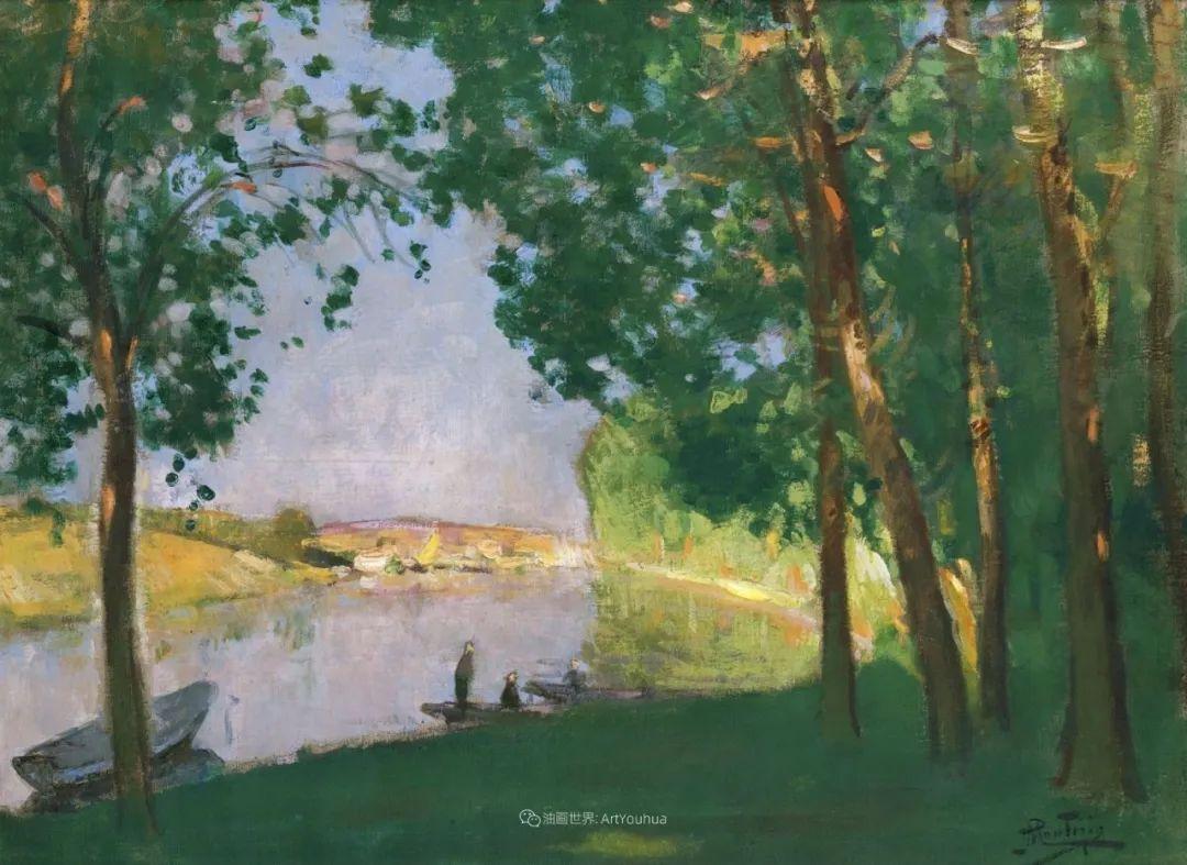 放大看,色彩笔触太赞了!法国美术学院第一任主席的画插图66