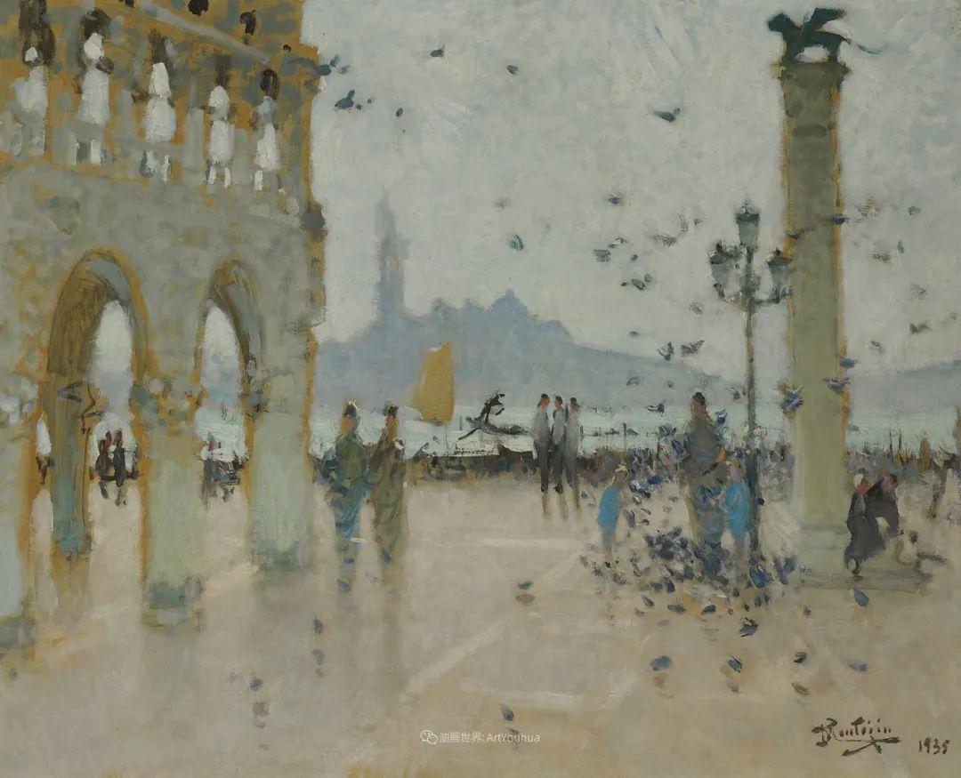 放大看,色彩笔触太赞了!法国美术学院第一任主席的画插图67