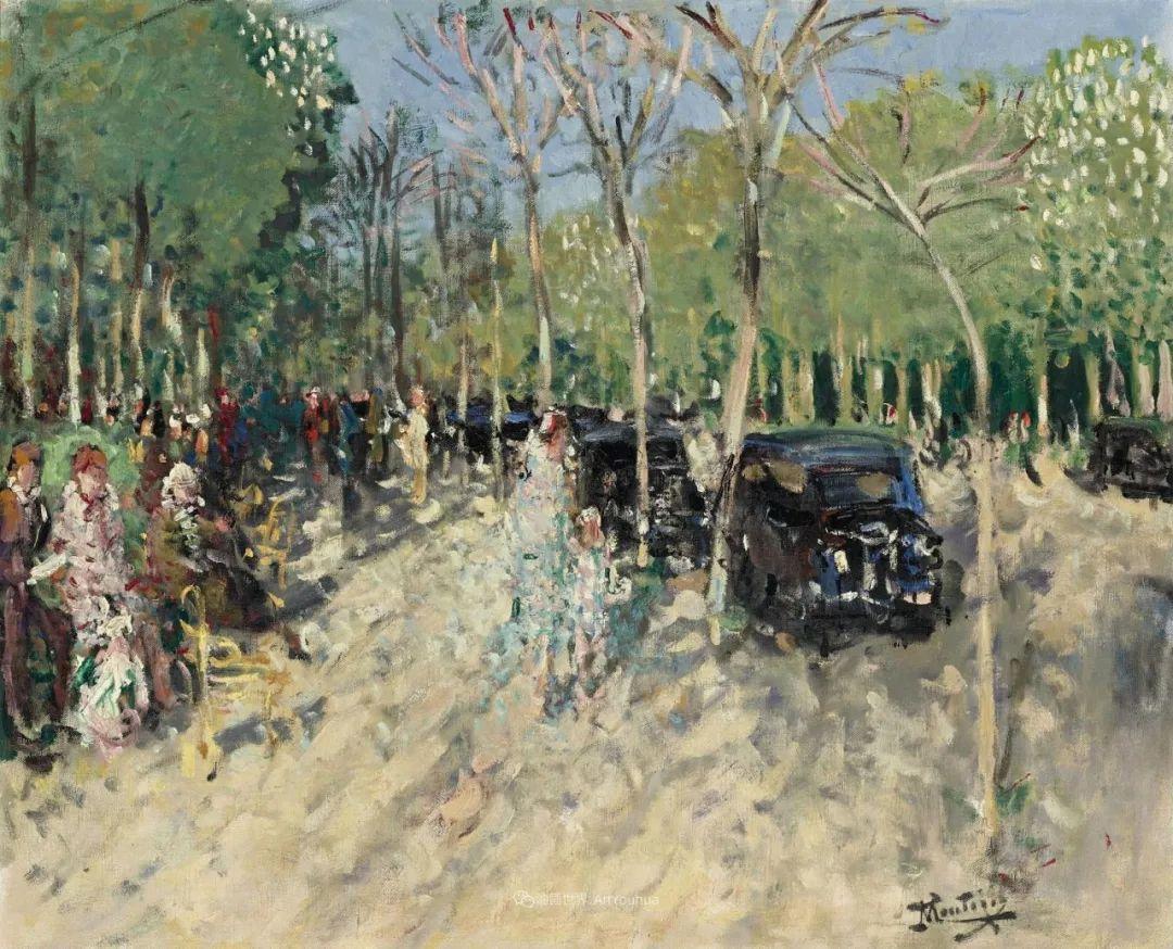 放大看,色彩笔触太赞了!法国美术学院第一任主席的画插图85
