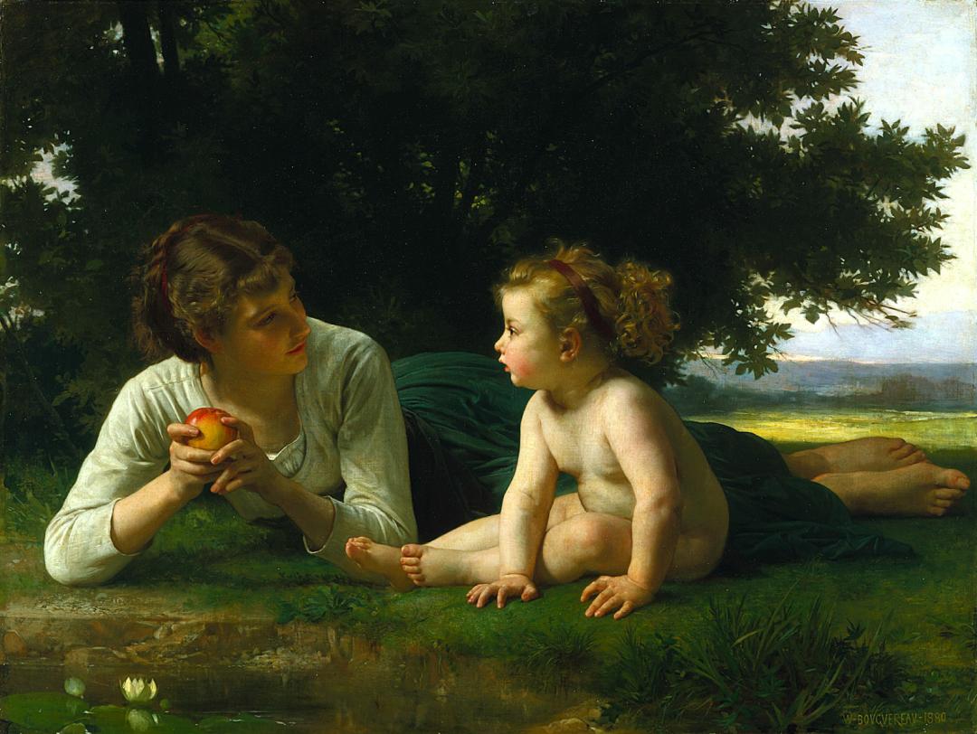 母爱篇,古典主义巨匠布格罗(中)插图1
