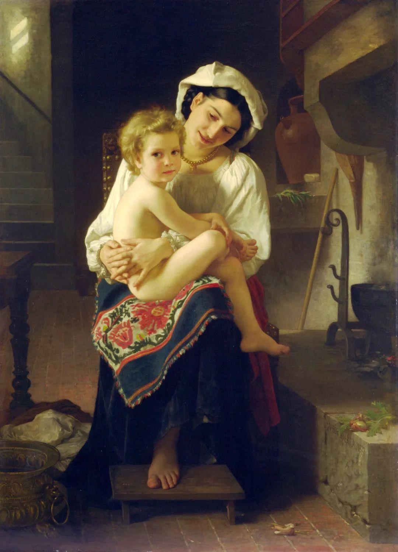 母爱篇,古典主义巨匠布格罗(中)插图9