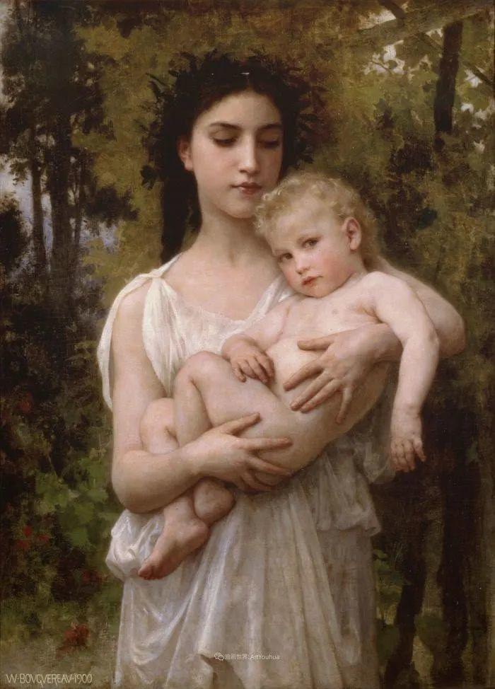 母爱篇,古典主义巨匠布格罗(中)插图15