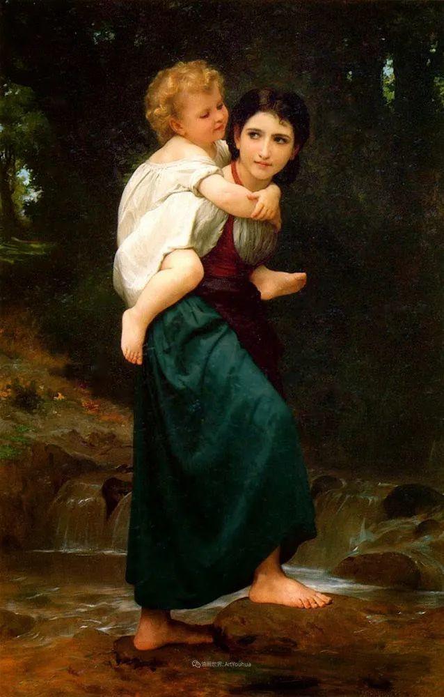 母爱篇,古典主义巨匠布格罗(中)插图17