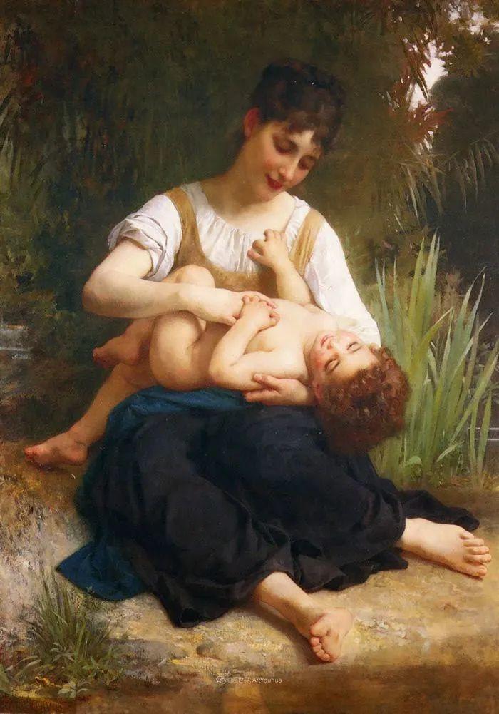 母爱篇,古典主义巨匠布格罗(中)插图19