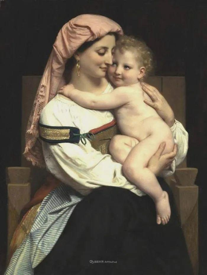 母爱篇,古典主义巨匠布格罗(中)插图29