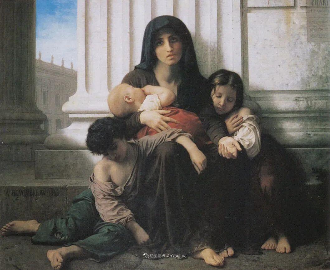 母爱篇,古典主义巨匠布格罗(中)插图33