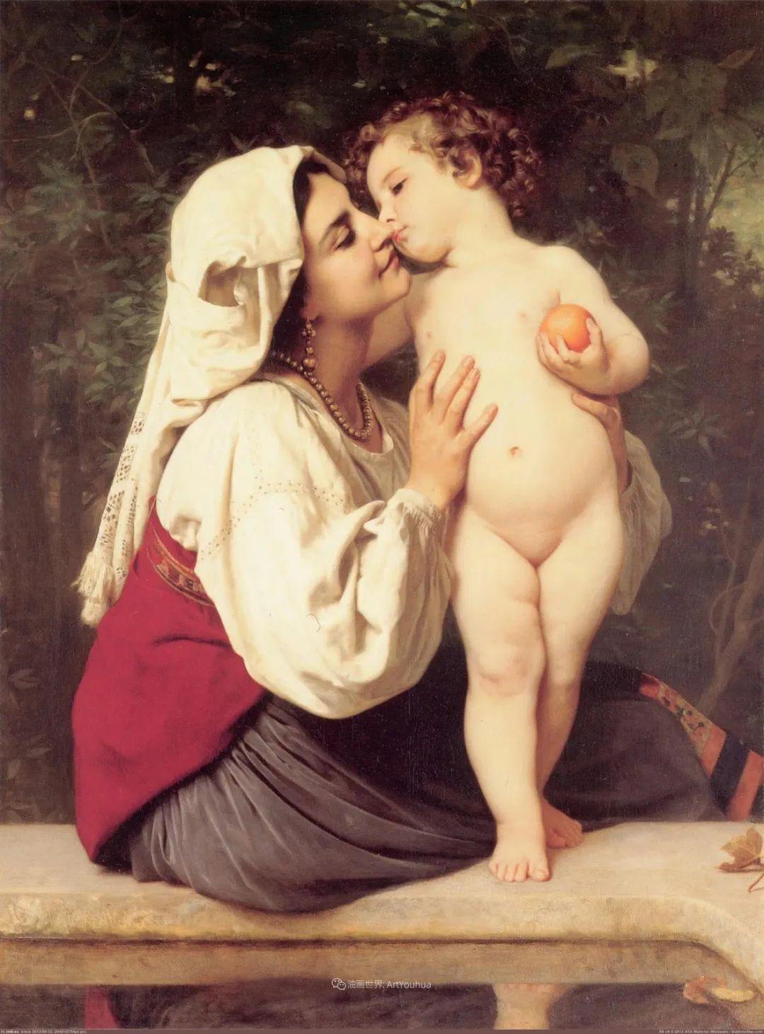 母爱篇,古典主义巨匠布格罗(中)插图37