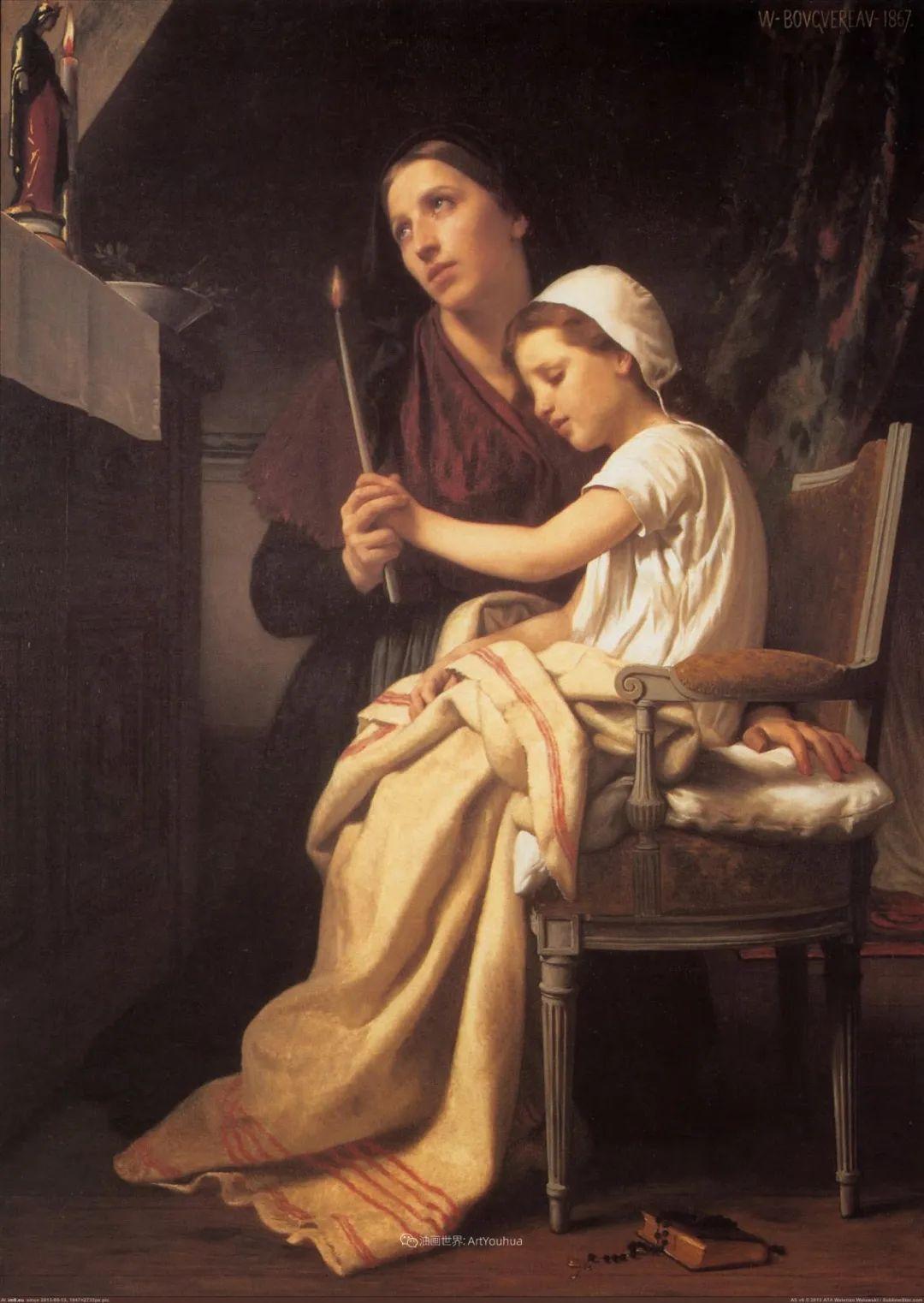 母爱篇,古典主义巨匠布格罗(中)插图39