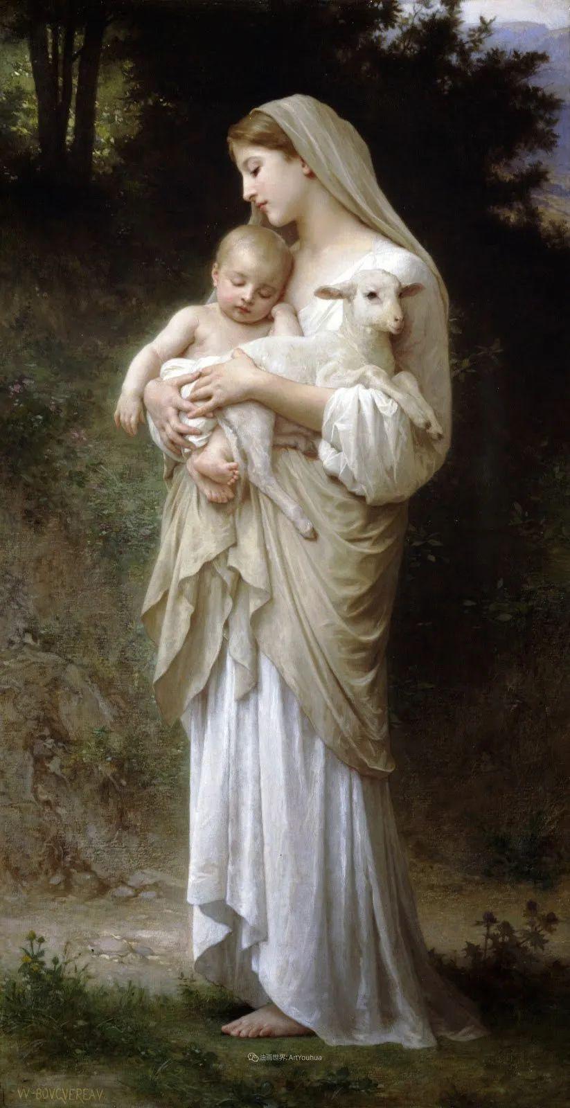 母爱篇,古典主义巨匠布格罗(中)插图45