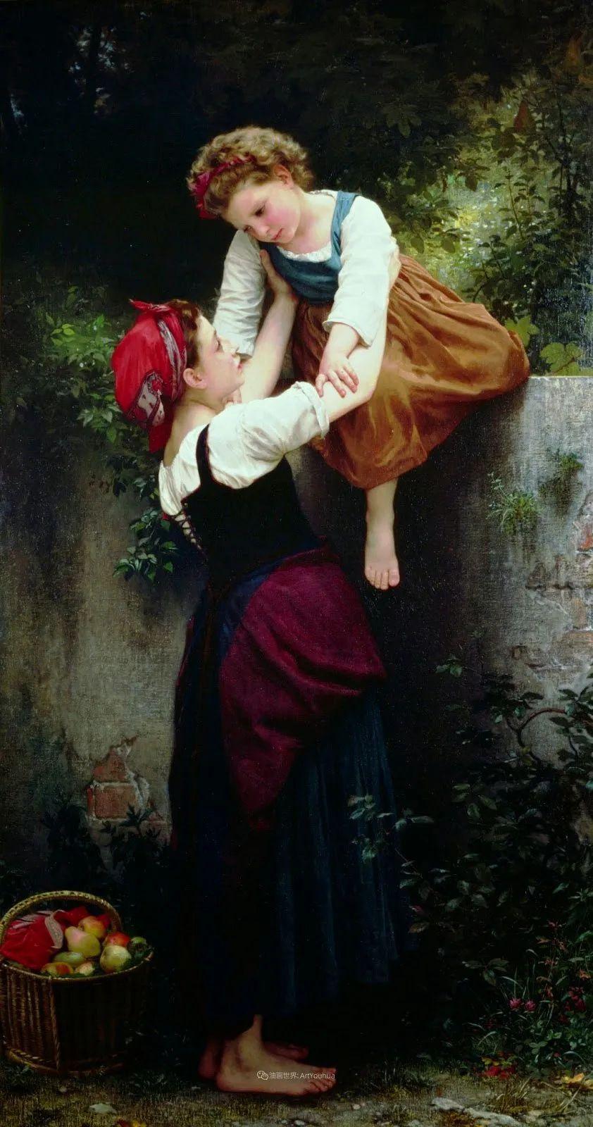 母爱篇,古典主义巨匠布格罗(中)插图47