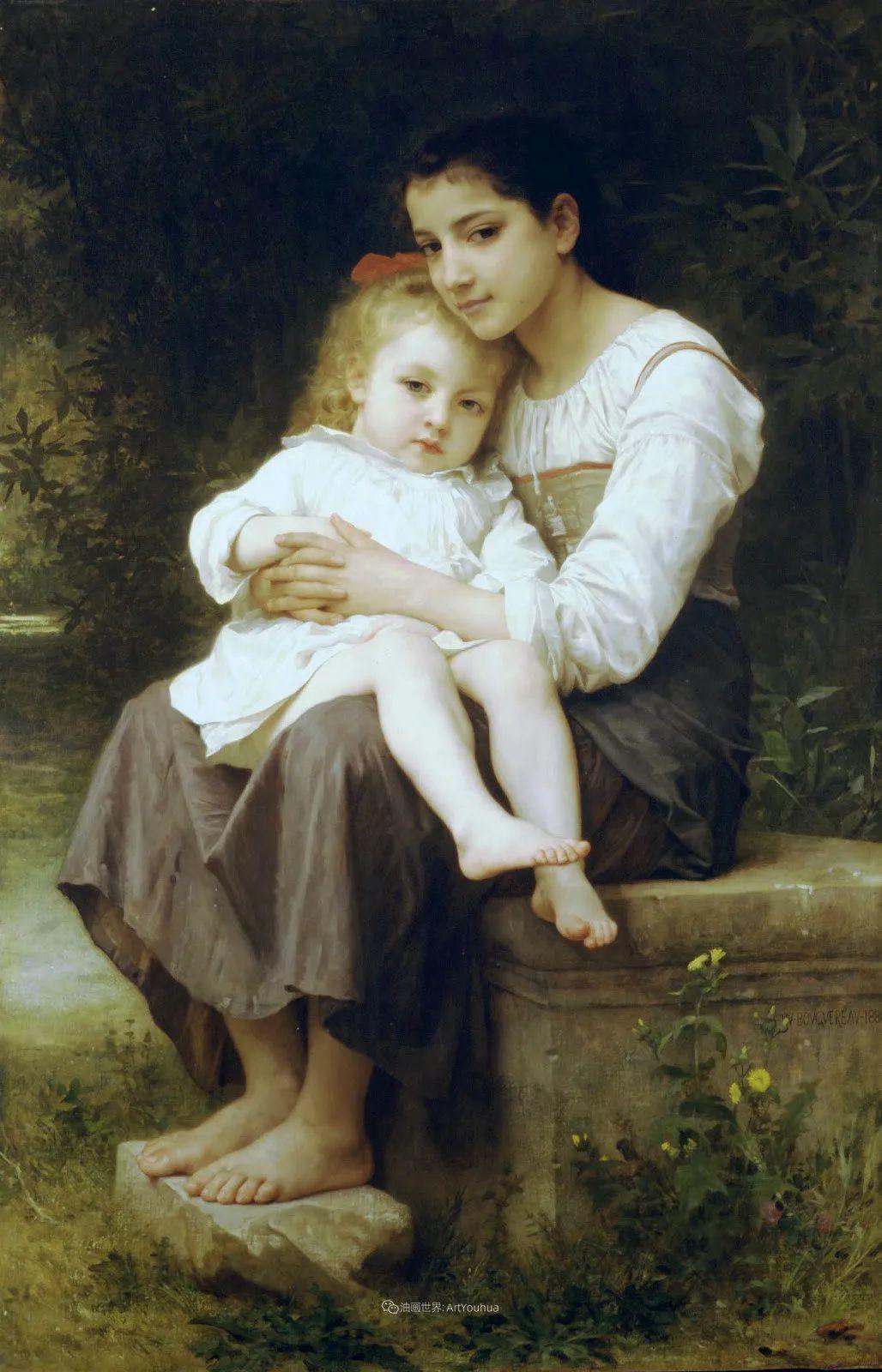母爱篇,古典主义巨匠布格罗(中)插图49