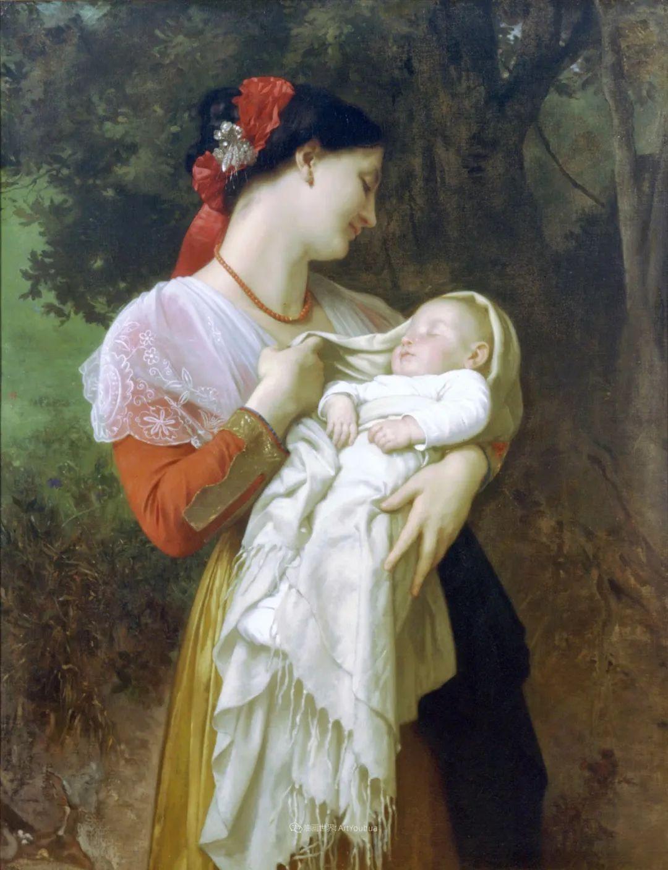 母爱篇,古典主义巨匠布格罗(中)插图55