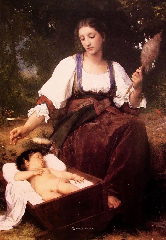 母爱篇,古典主义巨匠布格罗(中)插图69