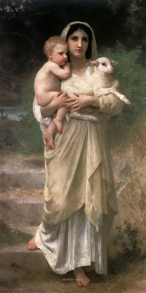 母爱篇,古典主义巨匠布格罗(中)插图77