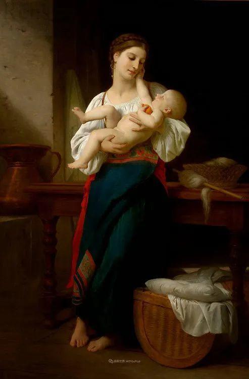 母爱篇,古典主义巨匠布格罗(中)插图79