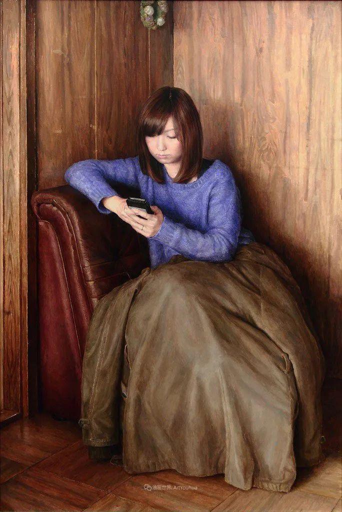 日本现代具象主义画家石田淳一插图62
