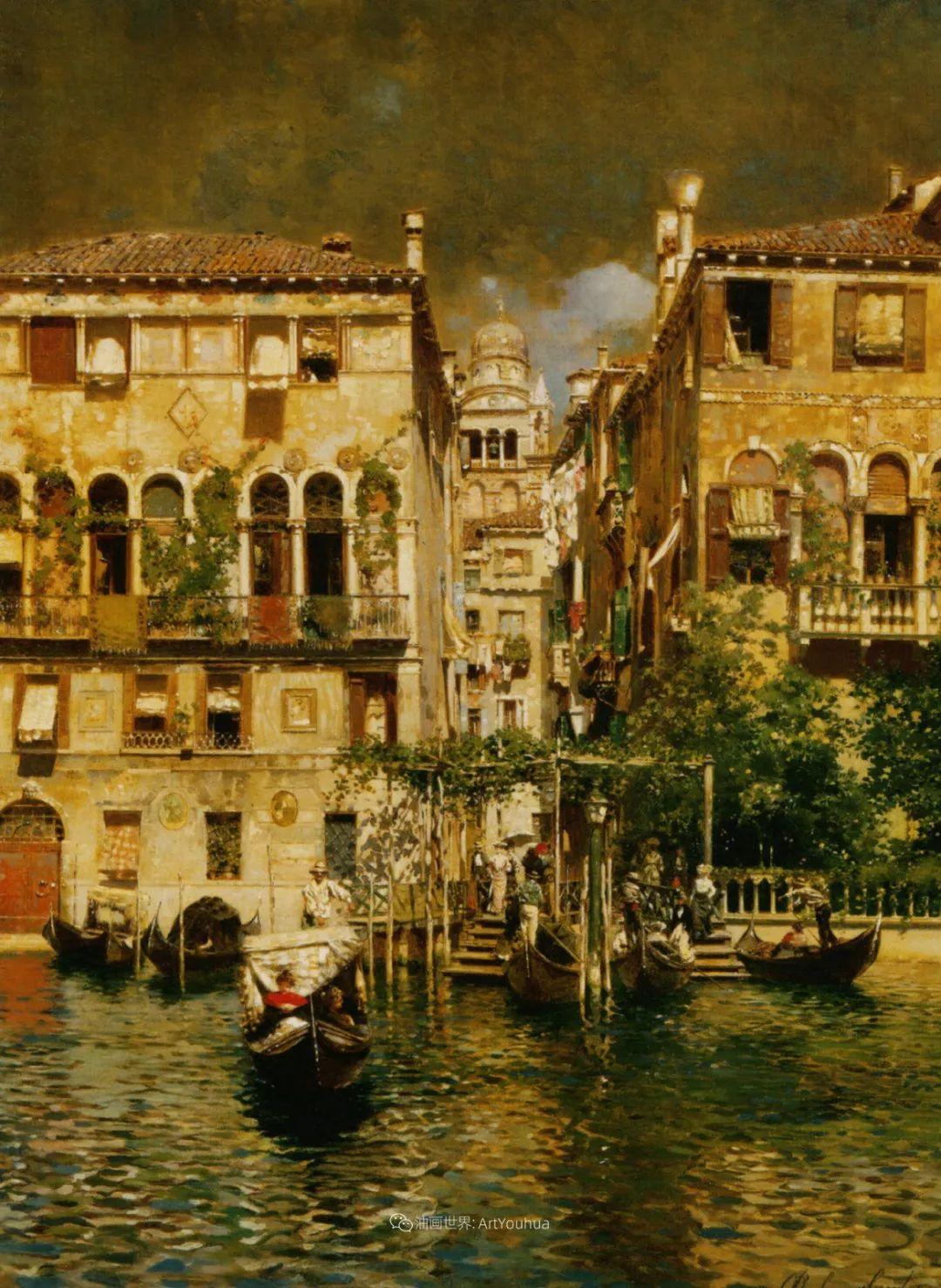 威尼斯风光,意大利画家鲁本斯·桑托罗插图23