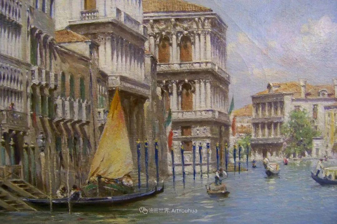 威尼斯风光,意大利画家鲁本斯·桑托罗插图39