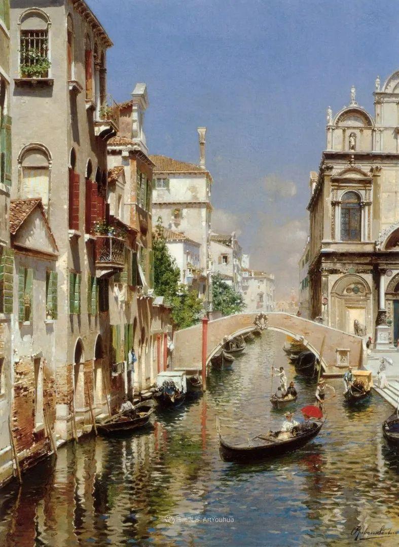 威尼斯风光,意大利画家鲁本斯·桑托罗插图41