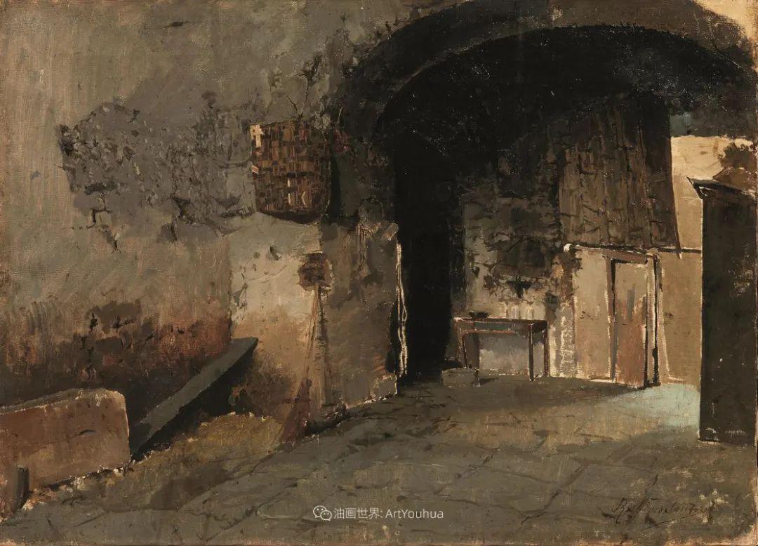 威尼斯风光,意大利画家鲁本斯·桑托罗插图43