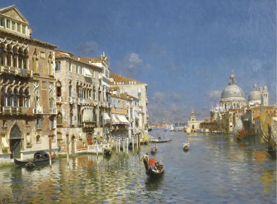 威尼斯风光,意大利画家鲁本斯·桑托罗插图51