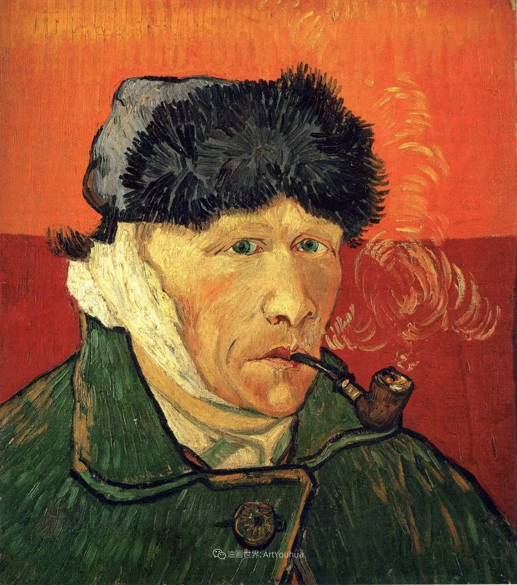 梵高41幅自画像,最后一幅看着看着就哭了插图47