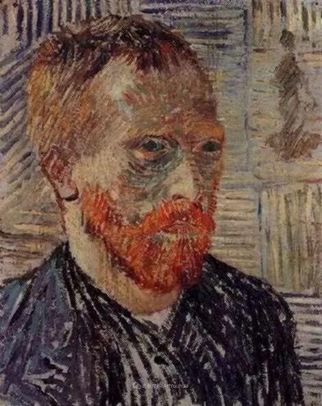 梵高41幅自画像,最后一幅看着看着就哭了插图72