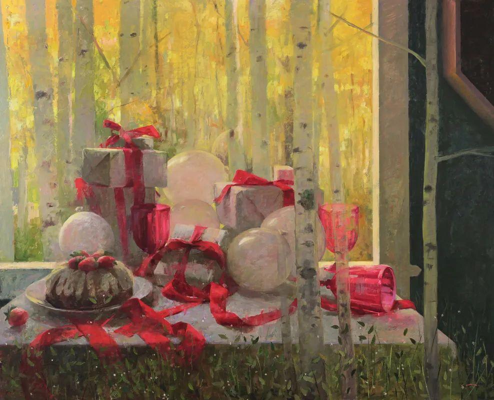 审美情愫,美国女画家米娅·伯杰龙插图9