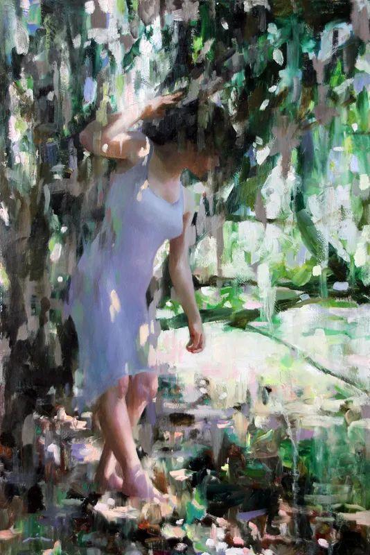 审美情愫,美国女画家米娅·伯杰龙插图35