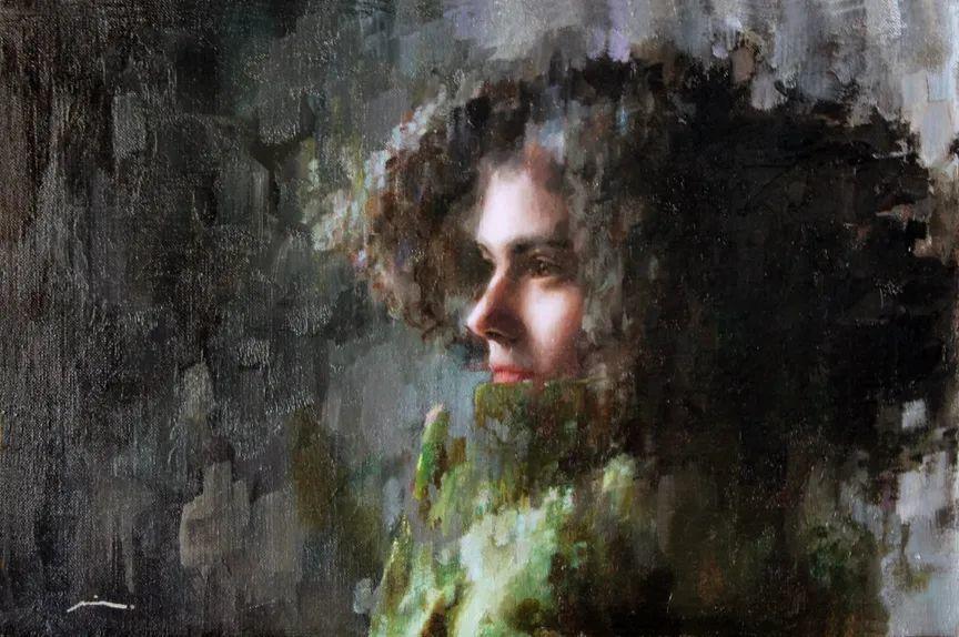 审美情愫,美国女画家米娅·伯杰龙插图47