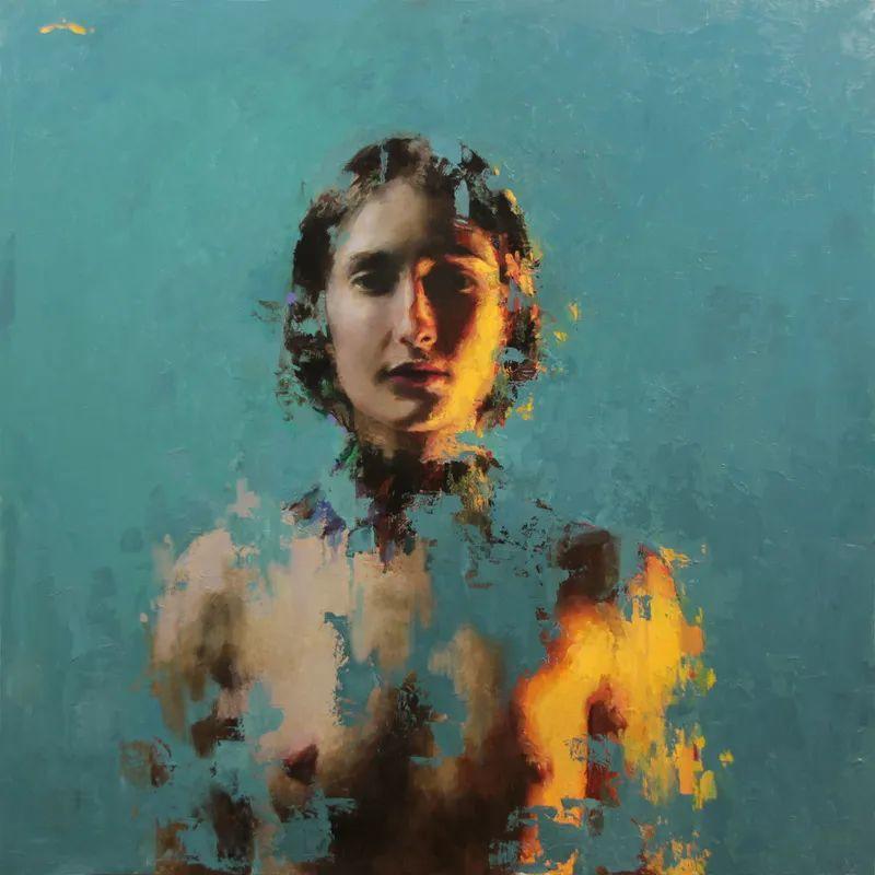 审美情愫,美国女画家米娅·伯杰龙插图49