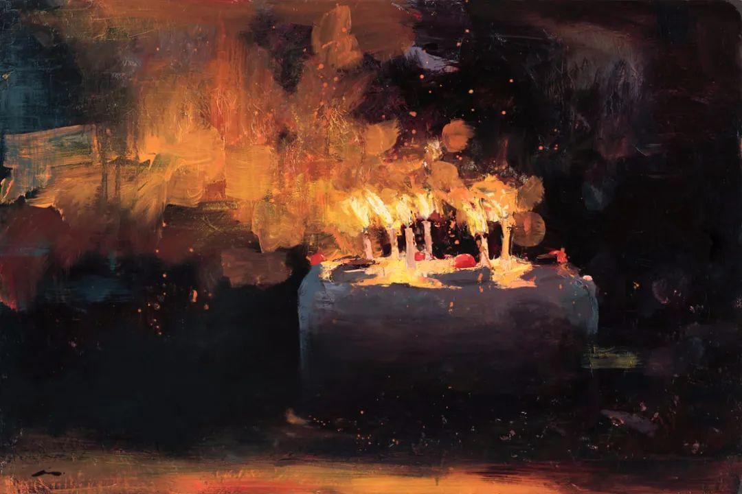 审美情愫,美国女画家米娅·伯杰龙插图57