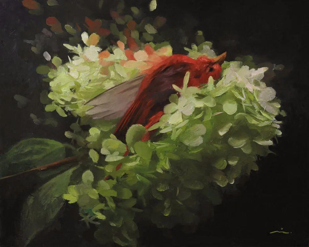 审美情愫,美国女画家米娅·伯杰龙插图61