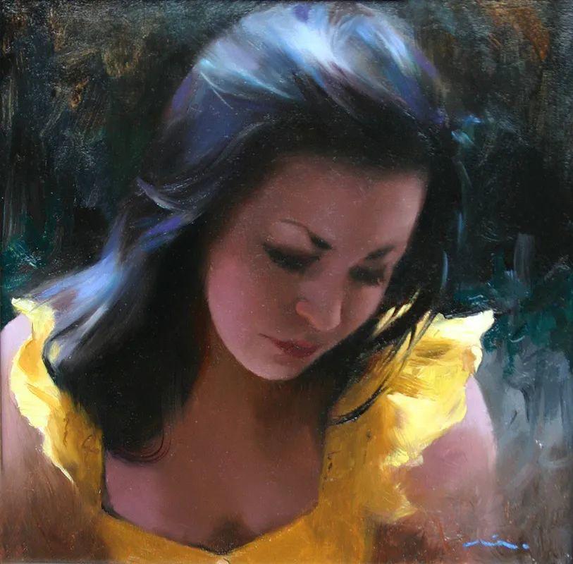 审美情愫,美国女画家米娅·伯杰龙插图67